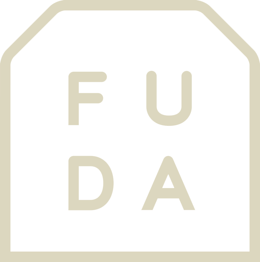 オリジナル台紙を箔押し印刷で作成  FUDA